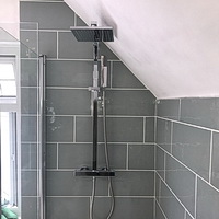 New Shower and Bath